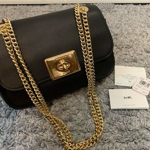 Coach Cassidy Crossbody Bag Black